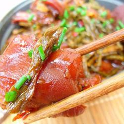 家常干豇豆烧猪蹄的做法[图]
