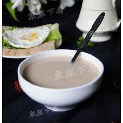 花生茨实红枣糯米浆的做法[图]