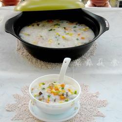 玉米胡萝卜香菇粥的做法[图]