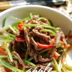 香根炒牛肉的做法[图]