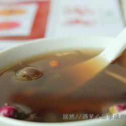 玫瑰花桂圆生姜茶的做法[图]