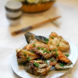 香煎三文鱼头的做法[图]