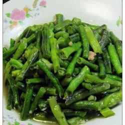 蒜泥炒豇豆的做法[图]