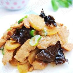 茭白木耳炒肉的做法[图]