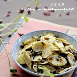 酸腌菜炒茭白的做法[圖]