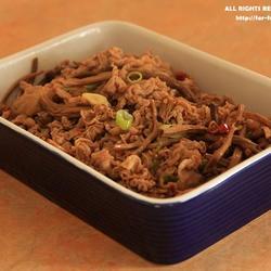 茶树菇炒羊肉的做法[图]
