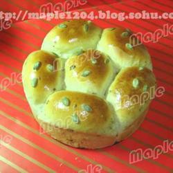 花朵红枣面包的做法[图]