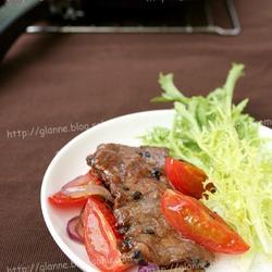 黑胡椒烤牛排的做法[图]