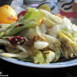 豬油手撕圓白菜的做法[圖]