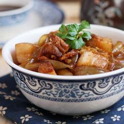 酸菜猪肉炖粉条的做法[图]