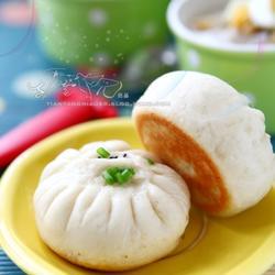 西芹海米水煎包的做法[图]