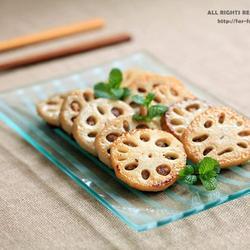 香煎酿藕的做法[图]