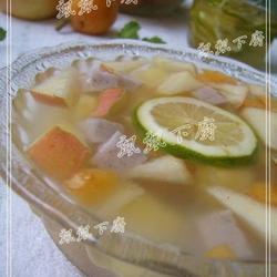 菱角糕水果茶的做法[图]