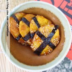 海苔蜜汁紅薯脯的做法[圖]