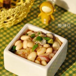 凉拌酸辣黄豆的做法[图]