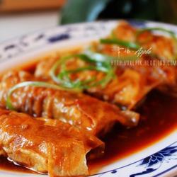 红烧豆腐皮肉卷的做法[图]
