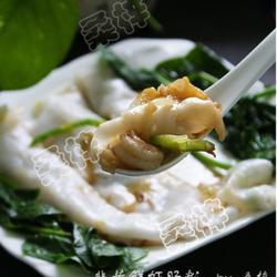 韭黄鲜虾肠粉的做法[图]