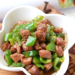 蚝油青椒牛肉丁的做法[图]