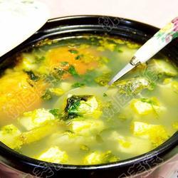 紫菜豆腐螃蟹汤的做法[图]