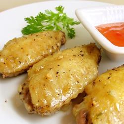 黑胡椒烤鸡翅的做法[图]