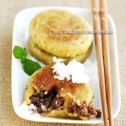 黄米面粘饼的做法[图]