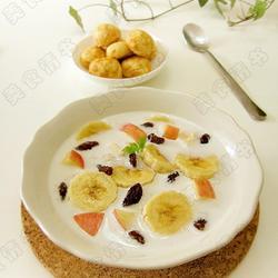 水果燕麦牛奶的做法[图]