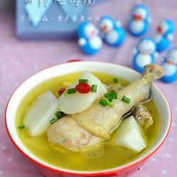 山药炖鸡汤的做法[图]