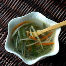 火腿莼菜汤的做法[图]