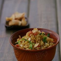 腊味榴莲炒饭的做法[图]