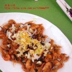 酱油小河虾的做法[图]
