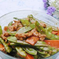 酱炒荷兰豆的做法[图]