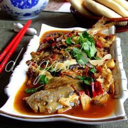 豆瓣醬燒鏡魚的做法[圖]