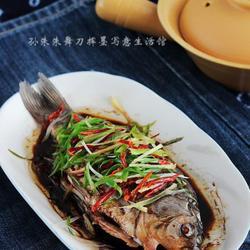 花椒蒸鲫鱼的做法[图]