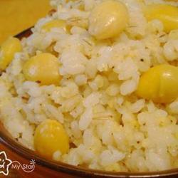 椰香银杏杂粮饭的做法[图]