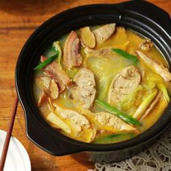 三鲜河蚌汤的做法[图]