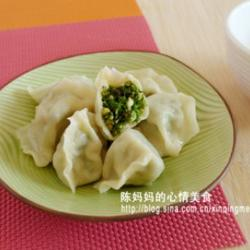 茴香苗素水饺的做法[图]
