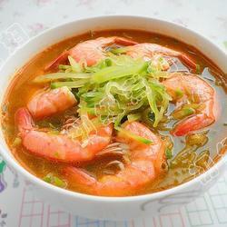 青萝卜虾汤的做法[图]