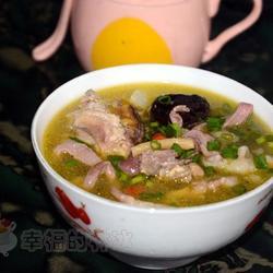 党参柴鸡猪肚汤的做法[图]