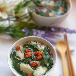 枸杞叶鱼片汤的做法[图]