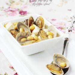 黄豆文蛤豆腐汤的做法[图]
