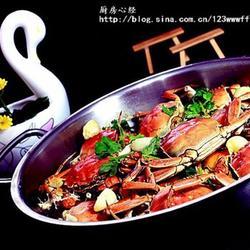 蒜子河蟹的做法[图]