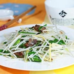 豆豉鲮鱼绿豆芽的做法[图]