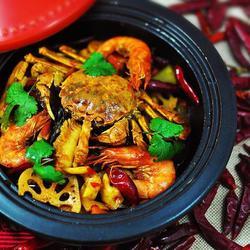 海鲜麻辣香锅的做法[图]