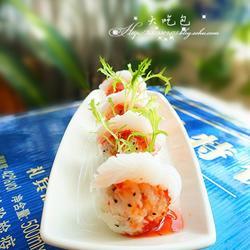 魔芋黑芝麻减肥寿司的做法[图]