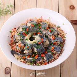 萝卜皮丝蒸鳗鱼的做法[图]
