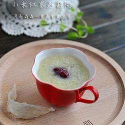 小米红枣燕窝粥的做法[图]