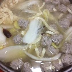 藕丁香菇肉丸汤的做法[图]