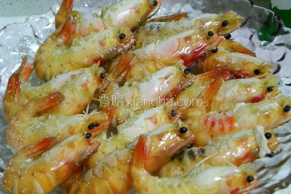 方便盐烤虾