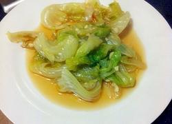 蒜茸耗油西生菜