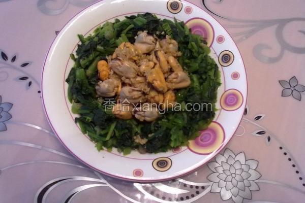 姜汁海虹菠菜